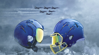 Navy Blue Angel uniforms