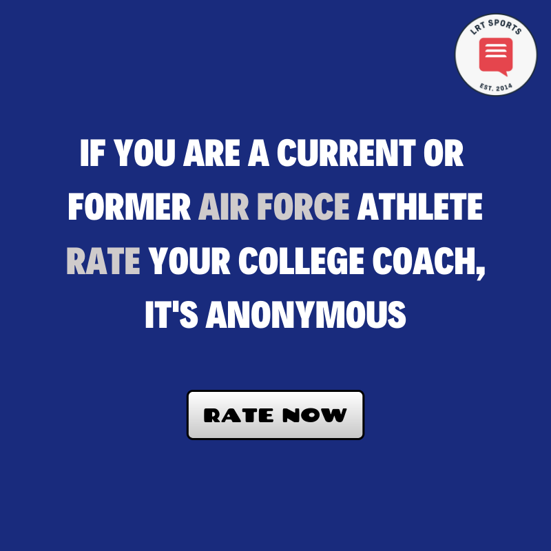 Air Force - Rate your coach
