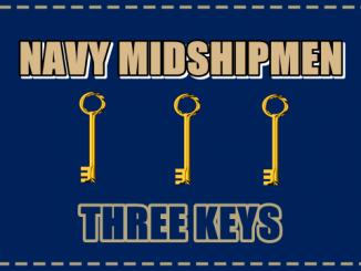 Navy 3-keys