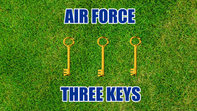 Three keys Air Force