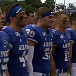 Air Force football players