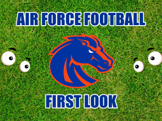 Eyes on Boise State logo