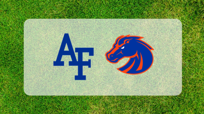 Air Force and Boise State logos