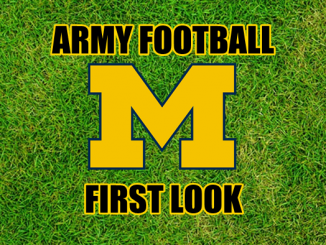 Army Football First Look-Michigan