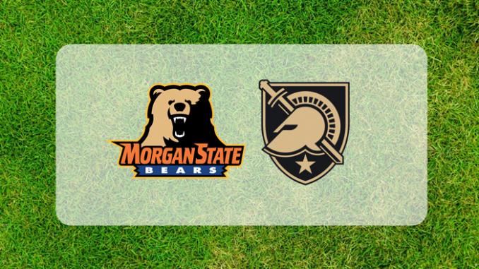 Army and Morgan State logos