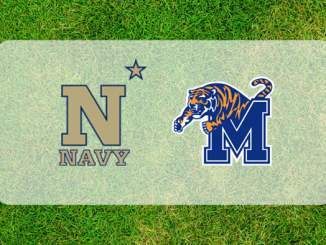 Navy and Memphis logos