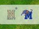 Navy and Memphis logos