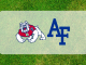 Fresno State and Air force logos