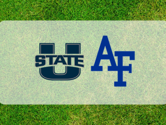 Utah State and Air Force logos