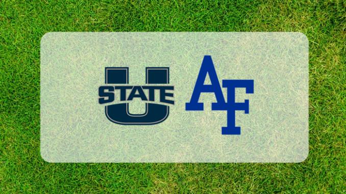 Utah State and Air Force logos