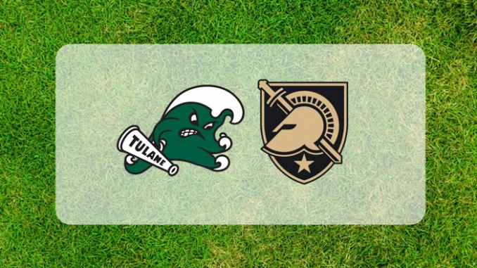 Tulane and Army logos