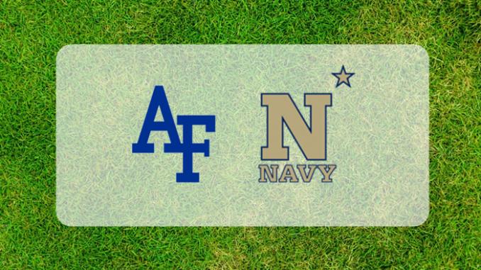 Air Force and Navy logos