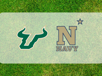 Navy and South Florida logos