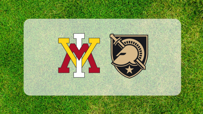 Army and VMI logos